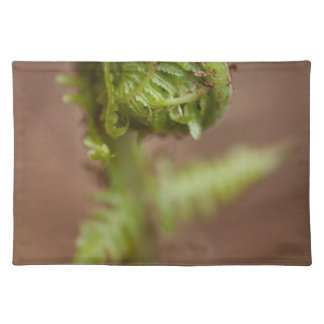 Fiddlehead Macro Cloth Placemat