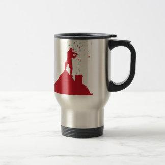 Fiddler  15 oz stainless steel travel mug