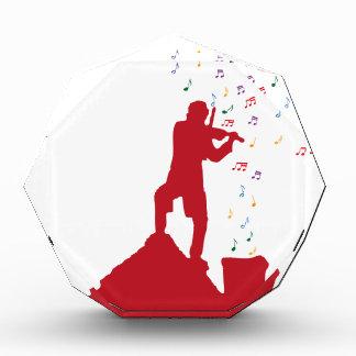 Fiddler  acrylic award