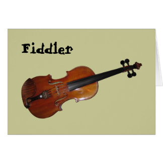 Fiddler Card