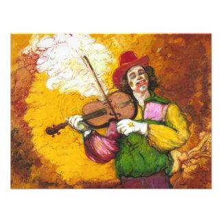 "Fiddler Clown ""Dubie Hummingbyrd"" Announcement"