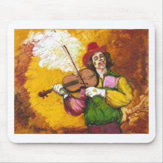 "Fiddler Clown ""Dubie Hummingbyrd"" Mouse Pad"
