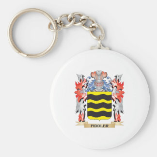 Fiddler Coat of Arms - Family Crest Keychain