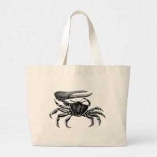 Fiddler Crab Drawing Jumbo Tote Bag