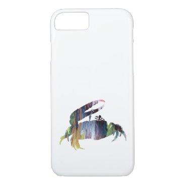 Beach Themed Fiddler Crab iPhone 7 Case