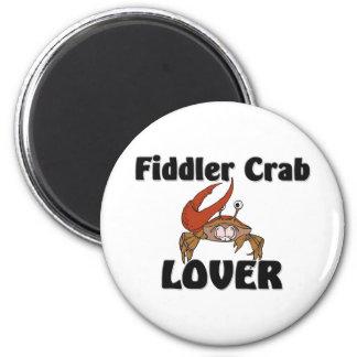 Fiddler Crab Lover 2 Inch Round Magnet