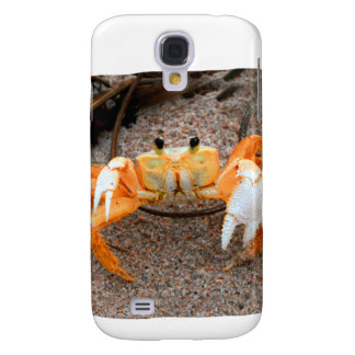 Fiddler Crab On Beach Colorized Orange Samsung Galaxy S4 Case