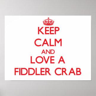 Fiddler Crab Print