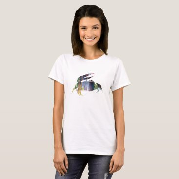 Beach Themed Fiddler Crab T-Shirt