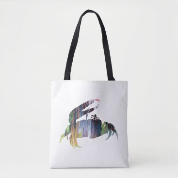 Beach Themed Fiddler Crab Tote Bag