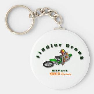 Fiddler Creek Arch Logo Line Keychain