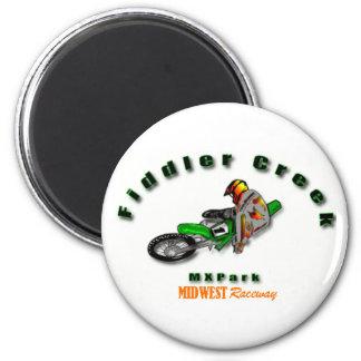 Fiddler Creek Arch Logo Line 2 Inch Round Magnet