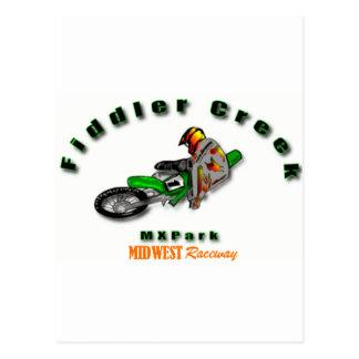 Fiddler Creek Arch Logo Line Postcard