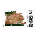 Fiddler Creek Track Design Postage Stamp