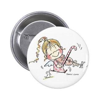 Fiddler del navidad CH-008 Pin Redondo 5 Cm