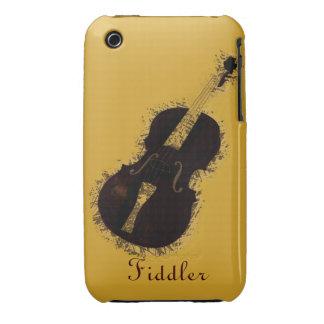 Fiddler del violinista del instrumento musical del Case-Mate iPhone 3 fundas