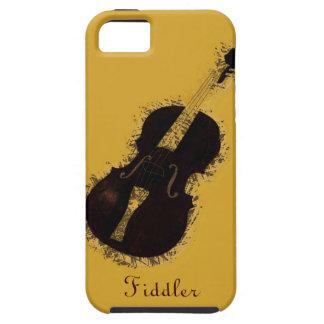 Fiddler del violinista del instrumento musical del funda para iPhone 5 tough
