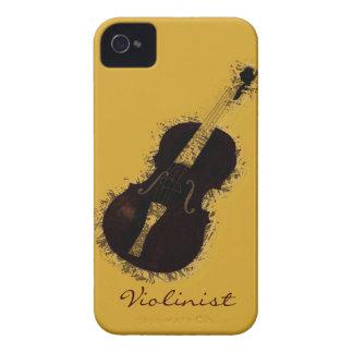 Fiddler del violinista del instrumento musical del iPhone 4 Case-Mate cobertura