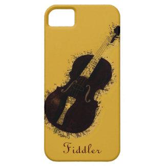 Fiddler del violinista del instrumento musical del iPhone 5 fundas