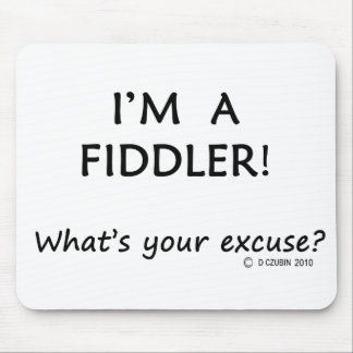 Fiddler Excuse Mouse Pad