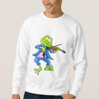 Fiddler Frog Unisex Sweatshirt