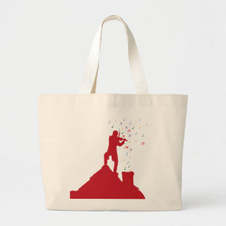 Fiddler  jumbo tote bag