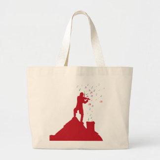 Fiddler  large tote bag