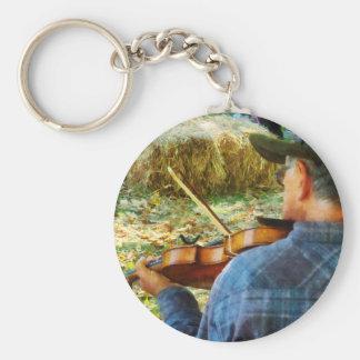 Fiddler Llavero Redondo Tipo Pin