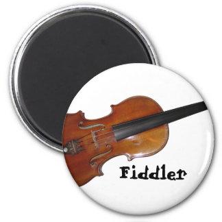 Fiddler 2 Inch Round Magnet