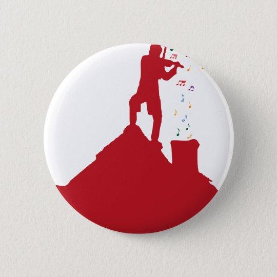 Fiddler  pinback button