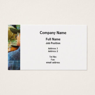 Fiddler - Platinum Finish Business Card