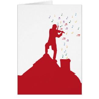 Fiddler Felicitación