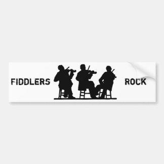 Fiddlers, Fiddle Car Bumper Sticker