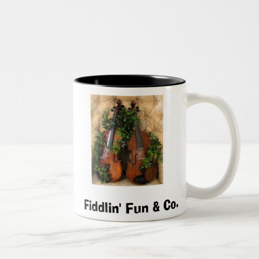 Fiddles, Fiddlin' Fun & Co. Mug