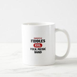 Fiddles Folk Music band Coffee Mug