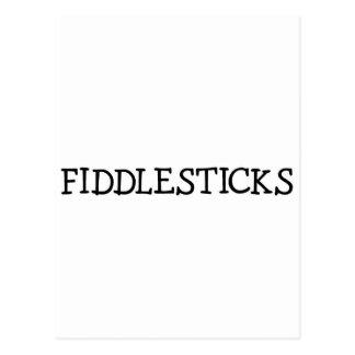 FIDDLESTICKS (simple) Postcard