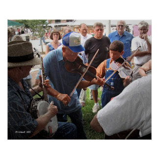 Fiddlin' in the Park Poster