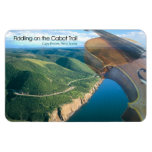 Fiddling on the Cabot Trail Rectangular Photo Magnet