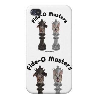 Fide-O domina perros del ajedrez iPhone 4 Carcasa