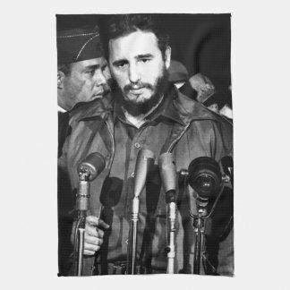 Fidel Castro 1959 Toalla De Mano