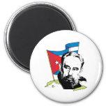 Fidel Castro 2 Inch Round Magnet
