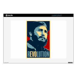 "Fidel Castro - Cuban Revolution President of Cuba Decals For 15"" Laptops"