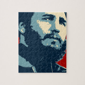 Fidel Castro - Cuban Revolution President of Cuba Jigsaw Puzzle