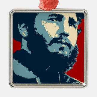 Fidel Castro - Cuban Revolution President of Cuba Metal Ornament