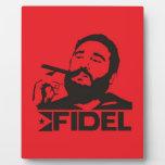 Fidel Castro Display Plaques