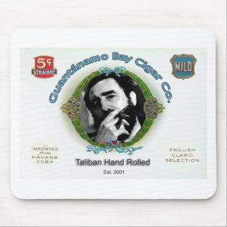 Fidel Castro Guantanamo Bay Cuba Cigar Company Mouse Pad