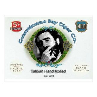 Fidel Castro Guantanamo Bay Cuba Cigar Company Tarjeta Postal