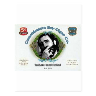 Fidel Castro Guantanamo Bay Cuba Cigar Company Postal