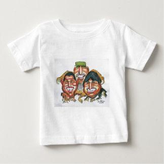 fidel castro,hugo chavez, evo morales baby T-Shirt