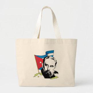 Fidel Castro Large Tote Bag